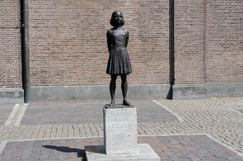 beeld Anne Frank