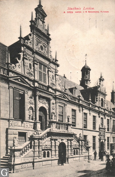 Leiden; stadhuis