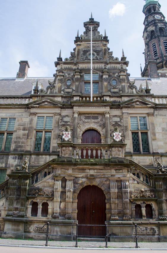 Leiden, stadhuis 2014