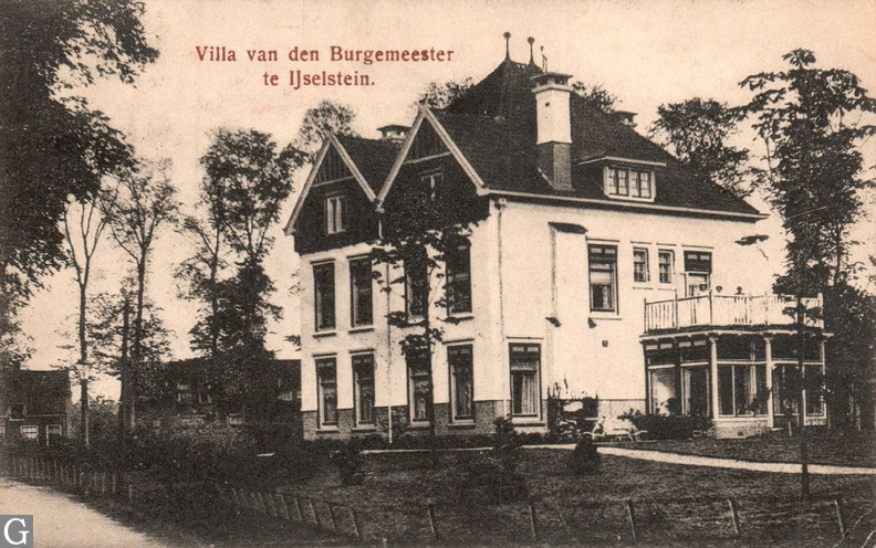 Villa burgemeester te IJsselstein