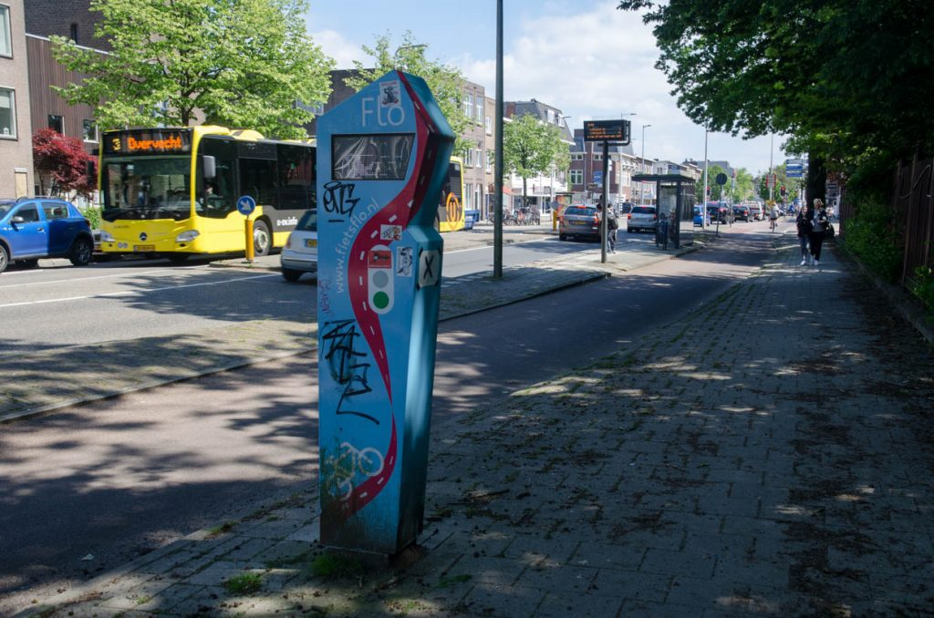 Flo op de Amsterdamsestraatweg