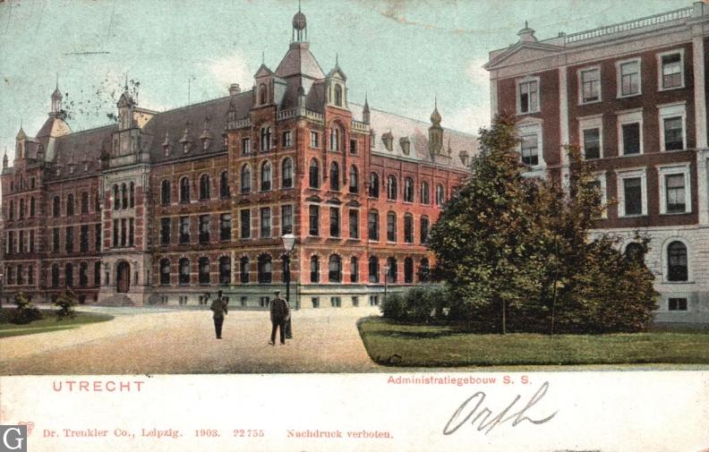 Administratiegebouw Staatsspoorwegen