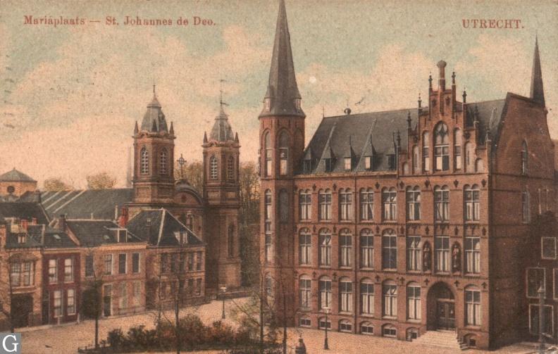 Mariaplaats, ziekenhuis Johannes de Deo