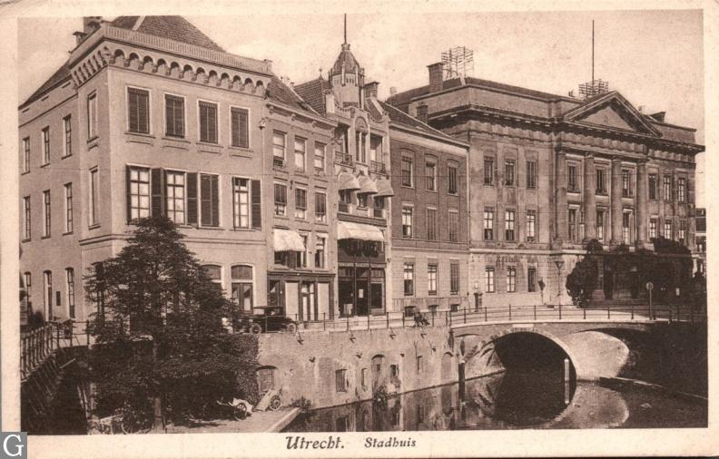 Utrecht, stadhuis