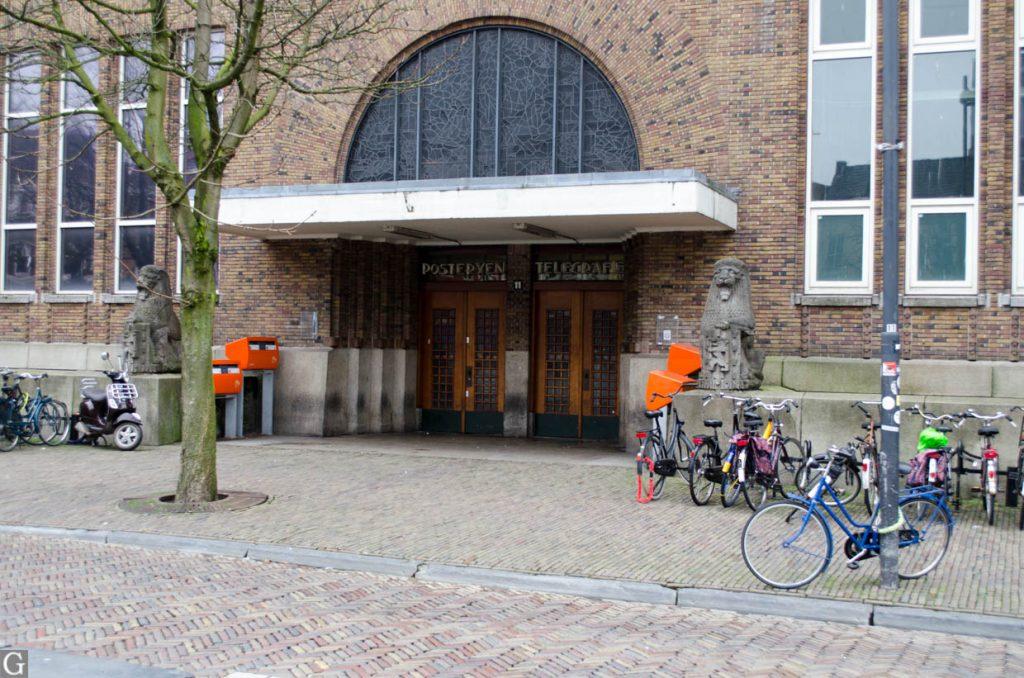 ingang postkantoor 26 januari 2014