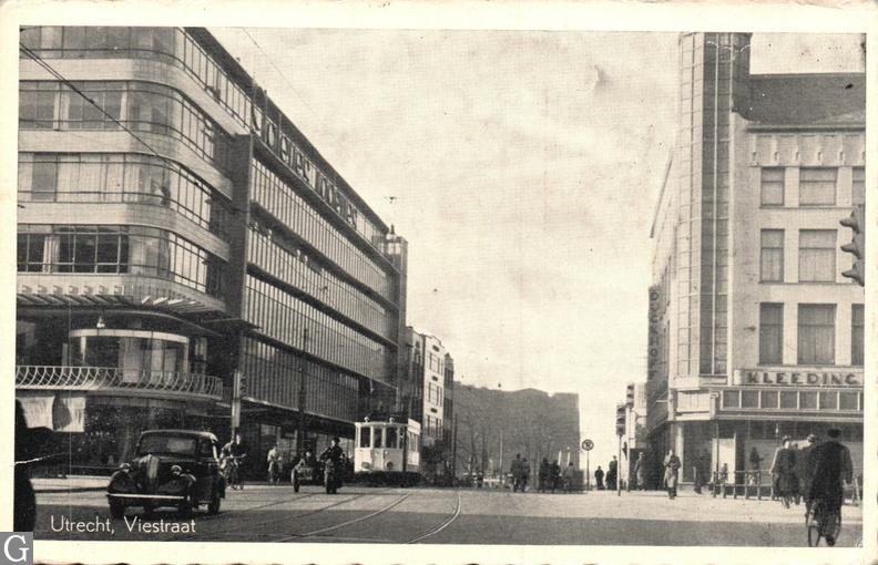 Viestraat ca. 1941/1949