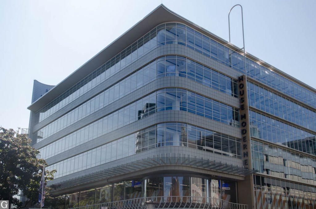 2021, verbouwing Galleries Modernes nadert voltooiing