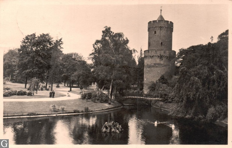 Nijmegen Kronenburgertoren